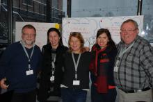 Arbeidsgruppa: Sivert Follesø, Nina Marie Lindstrøm, Siren Dale Narum, Ingunn Brattelid og Ola Vea Gustavsen